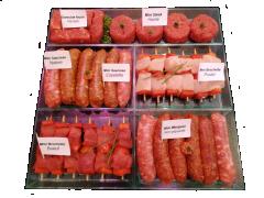 Plateau mini barbecue
